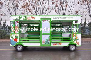 Подвижные продажи фруктов и овощей Электрический погрузчик для продажи