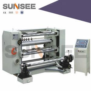 Sse-1500 LDPE HDPE Papel BOPP máquinas de corte longitudinal de Alta Velocidade