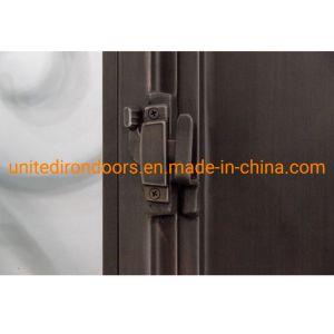 La Chine Factory Direct haut du panneau avant plat porte en fer (UID-D043)