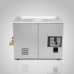 Potente de aço inoxidável 15 l litros de limpeza por ultra-som 760W Aquecedor Digital Timer