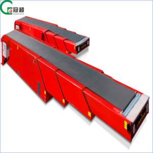 Gc T4-6/12,3stock Caja contenedor de carga de la cinta transportadora de descarga/ transportador de correa telescópico extensible