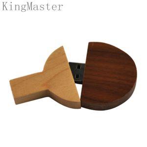 Приводы вспышки USB летучих мышей настольного тенниса короля Оригинала Древесины