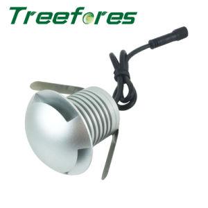 3W IP67 Scheinwerfer-im Freienlandschaftspunkt-Beleuchtung Gleichstrom-12V LED