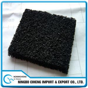 Granular Activated de poliuretano de partículas de fibra de carbono de la pantalla