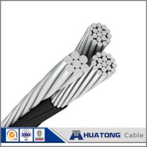 cavo duplex della chihuahua di ABC di goccia di alluminio di servizio 0.6kv/1kv