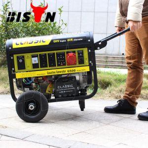バイソン((h)中国) BS7500j速い配達ベテランの製造者の長期間の時間正方形フレームガソリン発電機力