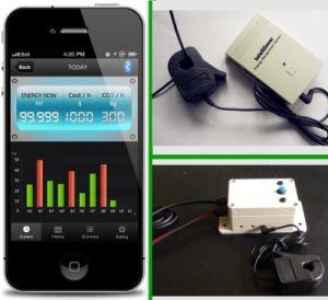 Intelligente Meter van de Macht van het Voltage van Medidor de Huidige
