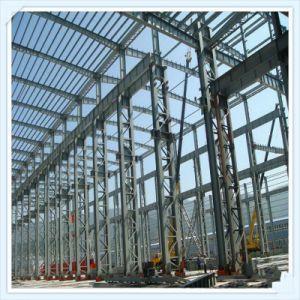 China Q235 T345 Estructura de bastidor de acero para talleres