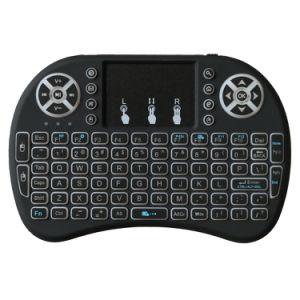 3 Toetsenbord van het Toetsenbord van kleuren I8 het Mini Draadloze Backlit 2.4G Draadloze