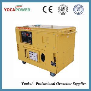 10kVA 8kw elektrisches bewegliches schalldichtes Dieselgenerator-Set