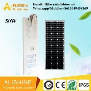 Im Freien50w alle in einer integrierten Solar-LED-Straßenlaterne