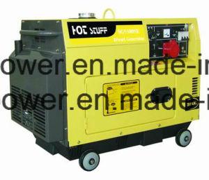 5kw generatore silenzioso raffreddato aria diesel silenziosa eccellente, tipo mobile