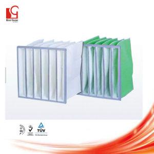 Suporte do Filtro de Ar Industrial de fibras sintéticas F8 Filtro de bolso