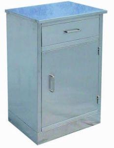 Armário de cabeceira de aço inoxidável (K-9)
