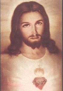 Olieverfschilderij Jesus (0214)