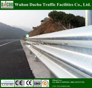 Segurança do tráfego rodoviário de aço galvanizado com Corrimão de feixe de estrada Corrimões