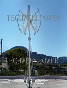 turbina di vento verticale di asse 3kw/5kw
