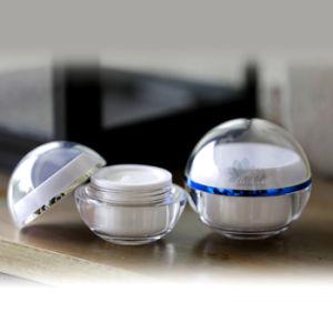 5/15/30/50/100g Ball Acrylic Cosmetic Packaging Jar (YSN3105)