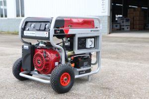 Générateur de haute qualité de l'essence pour le site de construction, unique et trois phase Gp10000e3