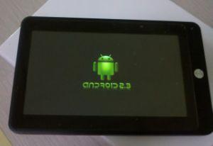 Планшетный ПК на базе Android 2.3 ноутбук с 7 512 Мбайт/4 Гбайт/камеры (KT7006)