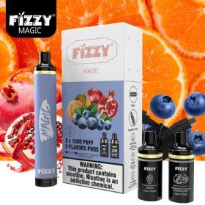2021 tout nouveau Vape jetable de type C fuzzy Magic 2000 Crayon Pod Bar plus Puff
