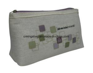 Matériau de jute Fashion Lady cosmétique de promotion de sacs, sacs à maquillage