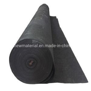 PP polipropileno perforado Nonwoven Geotextile Aguja de poliéster 150GSM 200GSM 270GSM 300GSM 400GSM 600 GRAMOS 4m*100m en color negro para Chile Proyecto, buen precio.