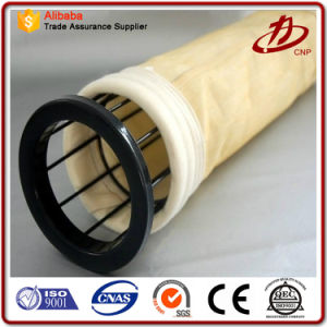 PPS+ PTFE Gewebe-Filtertüten für Staub-Sammler in der Verbrennungsofen-Anwendung