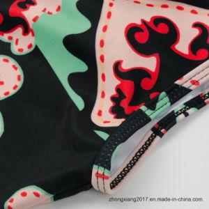 여자 수영복 Retro Biquini 섹시한 고삐 한 조각 수영복 인쇄