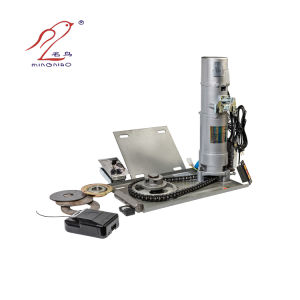 Motor Mingniao Motor de la puerta de rodadura del obturador para rodillos de laminación de obturador Motor