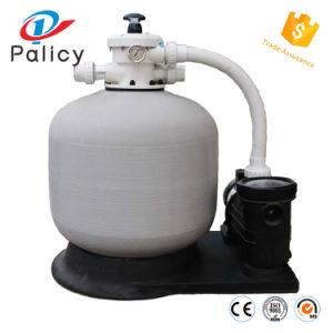 Plástico reforzado con fibra de cuarzo de agua de la piscina filtro de arena el tanque con bomba de agua para el tratamiento de agua
