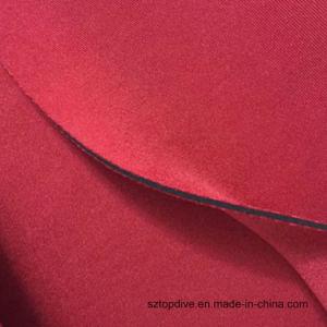 Strato laminato del tessuto del neoprene di sensibilità della mano molle del poliestere e del nylon