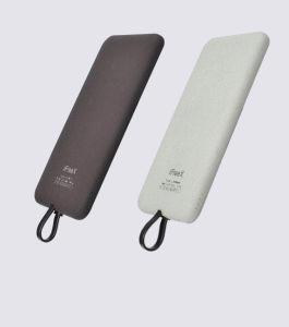 4000mAh cargador portátil compacto de Banco de potencia de iluminación integrado en el Cable/Micro-USB/Type-C (Y4).