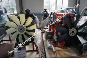 Shangchai 220kwのディーゼル発電機のスタンバイの発電機4はエンジンの電気発電機セットをかき立てる