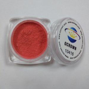Het kosmetische Pigment van de Lippenstift van het Poeder van het Pigment van het Mica van de Lippenstift van de Rang voor Make-up