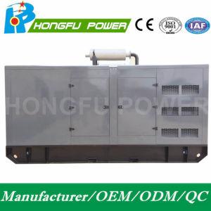 Энергопотребление в режиме ожидания 550квт/687.5ква бесшумный электрический генератор с Shangchai Sdec дизельного двигателя