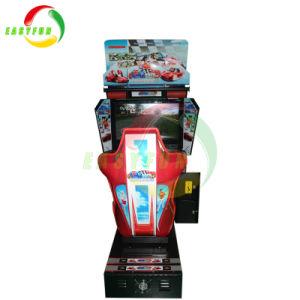 Muntstuk van de raceauto stelde de Binnen DrijfMachine van het Spel van de Raceauto in werking