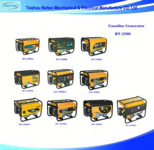 CA di Bt-2500c 2kw 5.5HP generatore della benzina di ritrazione di potere di 3 fasi