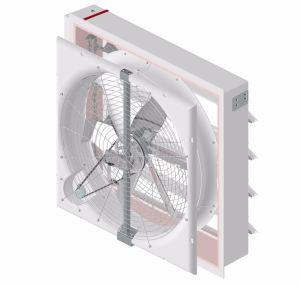 Boîte d'échappement du ventilateur du PRF 50 pour le bétail avec Amca Rapport de texte