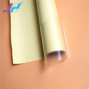 60micron/80GSM黄色い裏付けが付いている高く光沢のある冷たいラミネーションのフィルム