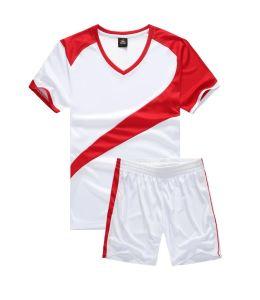 スポーツ・ウェアの昇華男子サッカーのフットボールのワイシャツ