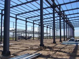 용접된 강철빔 강철 작업장 건축