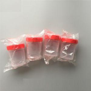 Conteneur de spécimen de l'urine tasse jetable pour des raisons médicales 40ml 60ml 120ml