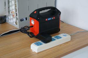 Портативный литиевая батарея питания генератора Powerstation солнечной энергии 100W