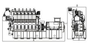 21/30 Generator Met motor