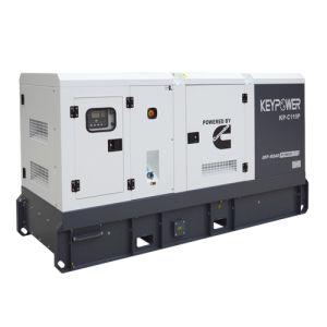 Шесть цилиндров Silent тип генератора дизельного двигателя с 100 ква Основная мощность