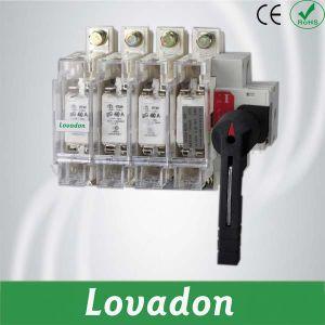 Hglrシリーズ160A 380V 4pロード隔離スイッチ