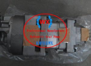 EXW precio! Verdadera Bomba de engranajes doble Assy 705-52-30490 de Wa500-3C WA400-3 piezas de maquinaria de construcción de la pala de ruedas 705-52-30390 705-52-30360 23b-60-11100