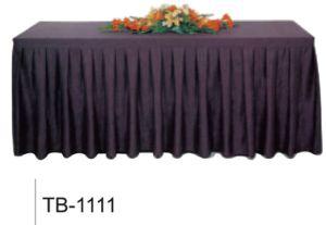 싸게 겹쳐 쌓여기 결혼식 호텔 고급 폴리에스테 연회 테이블 치마 식사
