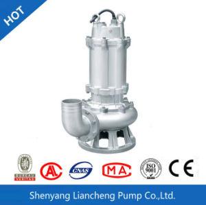 Wq submersible en acier inoxydable standard des eaux usées de la pompe d'eau sale de la pompe